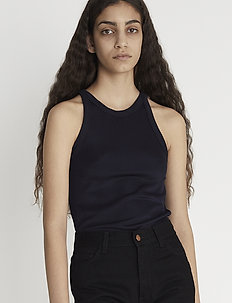 RODEBJER OANA - basic t-shirts - dark navy