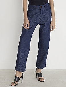 RODEBJER ESZTI - straight jeans - navy