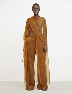 RODEBJER NEVAEH - trousers - cinnamon