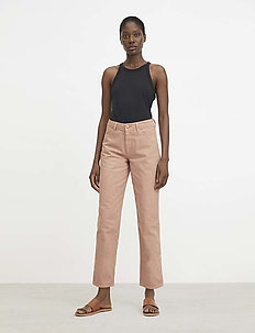 RODEBJER EDIE EDITOR - straight jeans - faded terracotta