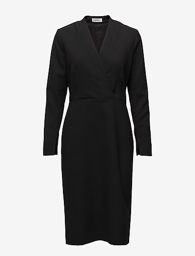 ALEXE - midi dresses - black