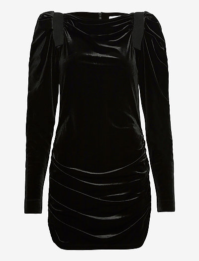 MINIA - stramme kjoler - black