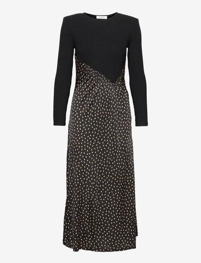 RODEBJER FLEUR - alledaagse jurken - black