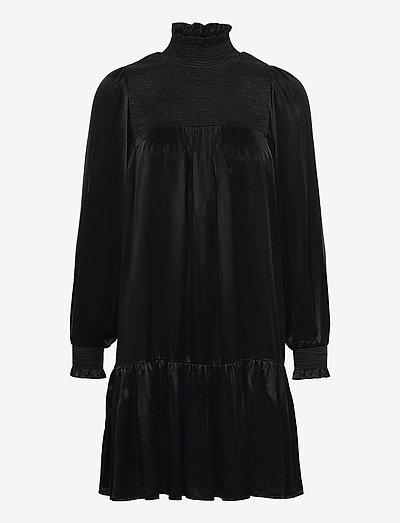 RODEBJER DONNA CUPRO - cocktail dresses - black