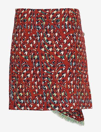 Rodebjer Rozsi- Spódnice Brick Red