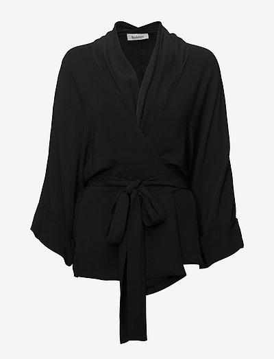 RODEBJER TENNESSEE TWILL - kimonoer - black