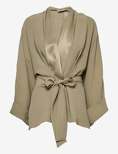 RODEBJER TENNESSEE TWILL - kimonoer - olive leaf