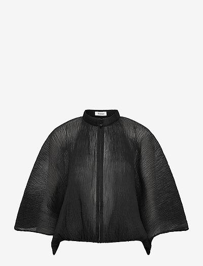 MAGDALA - langærmede bluser - black