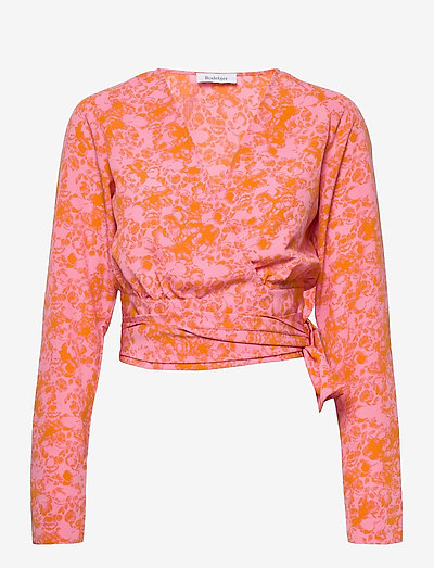 RODEBJER DOVE BUDDING - long sleeved blouses - cherry blossom