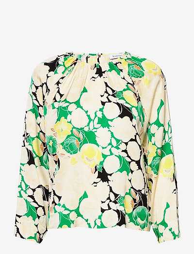 RODEBJER SOLOMIYA - long sleeved blouses - spring green