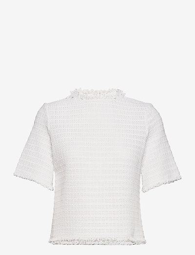RODEBJER YURDANA - short-sleeved blouses - white