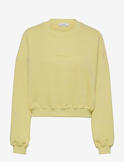 RODEBJER KOLOMAN - collegepaidat ja hupparit - mellow yellow