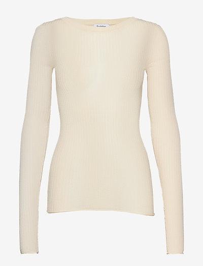 RODEBJER MALPE - trøjer - creamy ivory