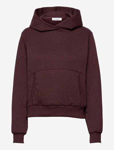 RODEBJER MONOGRAM - sweatshirts & hoodies - dark berry