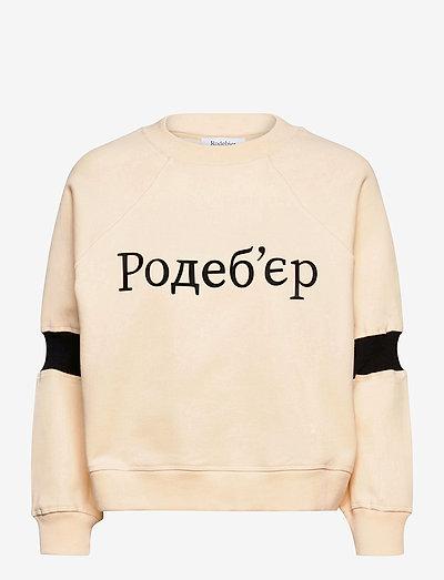 RODEBJER JALENA - sweatshirts & hoodies - ceramic white