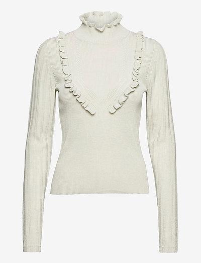RODEBJER ELORIA - sweaters - clay verde