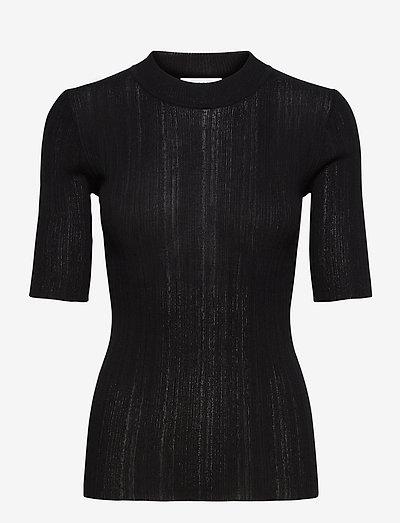 RODEBJER EWA - strikkede toppe - black