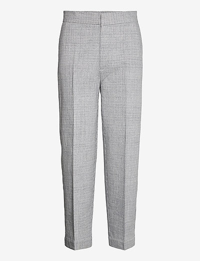 RODEBJER INESSA - straight leg trousers - grey