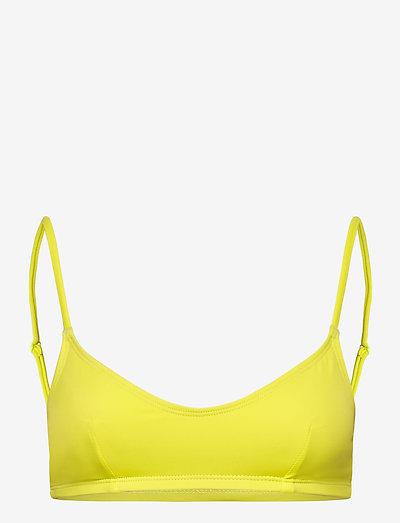 RODEBJER SEA - bikini overdele - rave yellow
