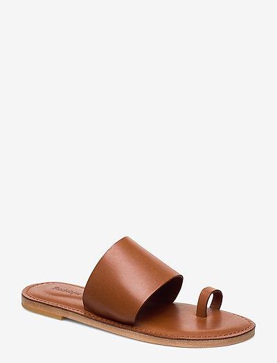 RODEBJER KATE - flade sandaler - hazel