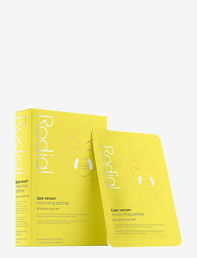 Rodial Bee Venom Micro-Sting Patches, 4x2stk - sheet mask - clear