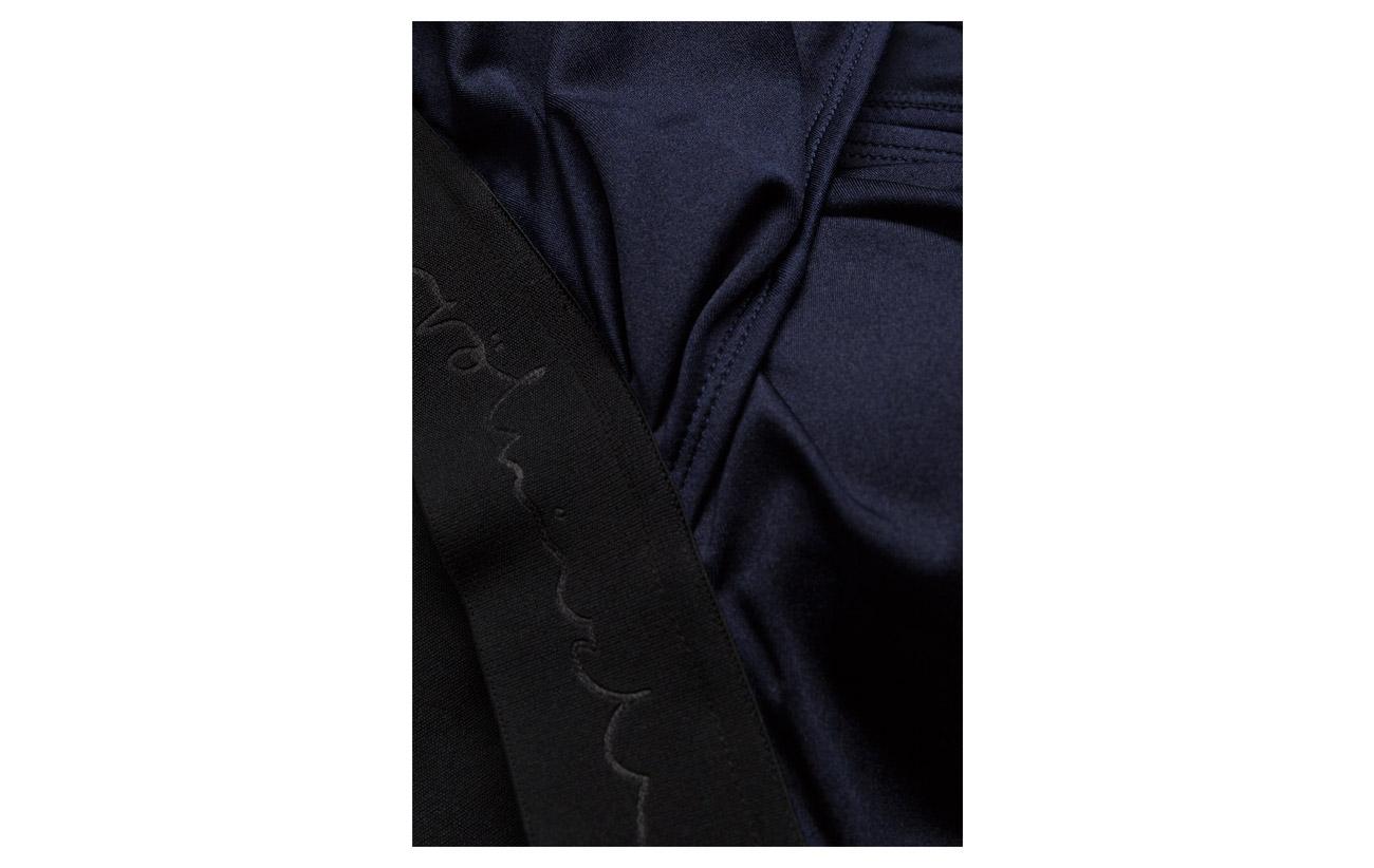 100 Leaves Navy Polyamide Doublure 15 Röhnisch Équipement Namaste Polyester 85 Elastane Intérieure Sports Bra w0qF1I