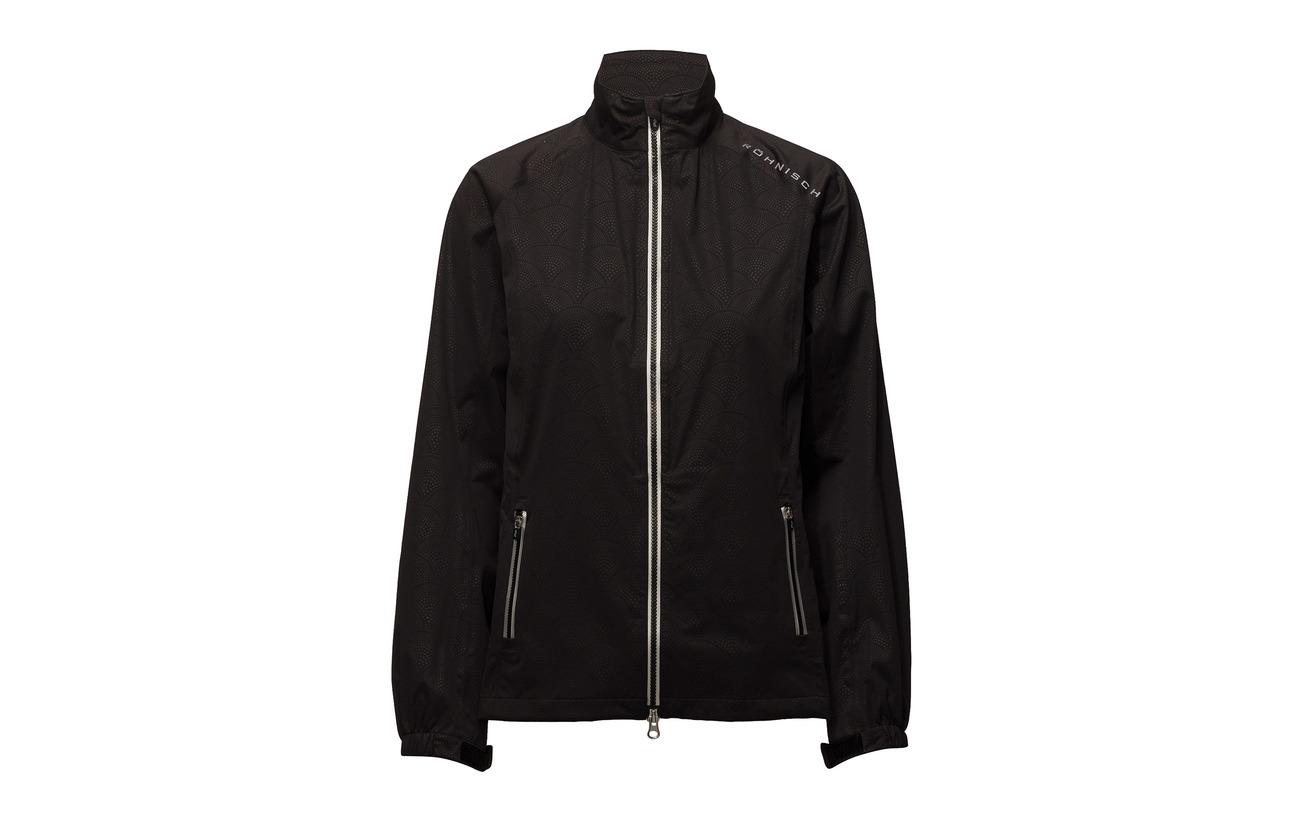 Röhnisch Jacket Hazy Rain Arc 100 Polyester Black Équipement fqCFfZxRw