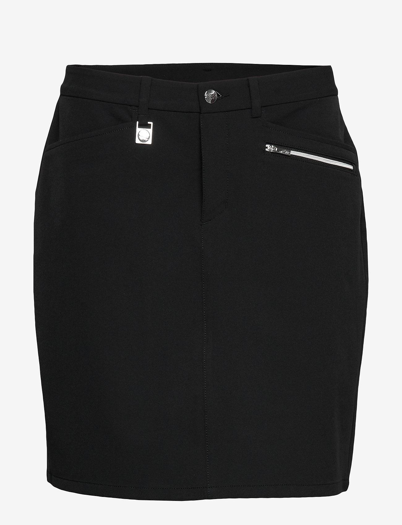 Röhnisch - Comfort Stretch Skort - golfbroeken - black - 0