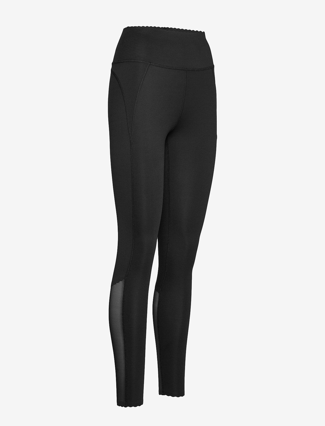 Röhnisch Laser Cut Tights - Leginsy BLACK - Kobiety Odzież.