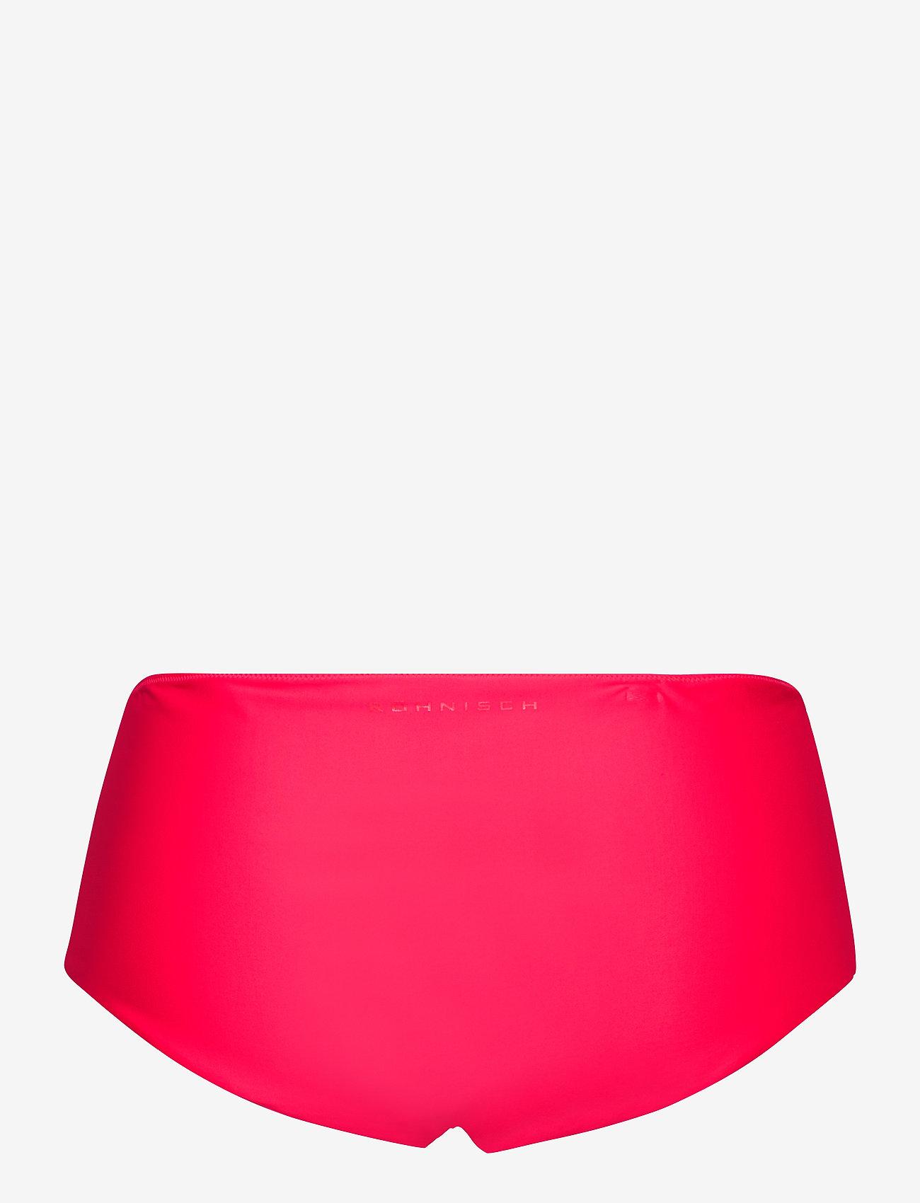 Röhnisch - Indra Hipster - doły strojów kąpielowych - neon red - 1