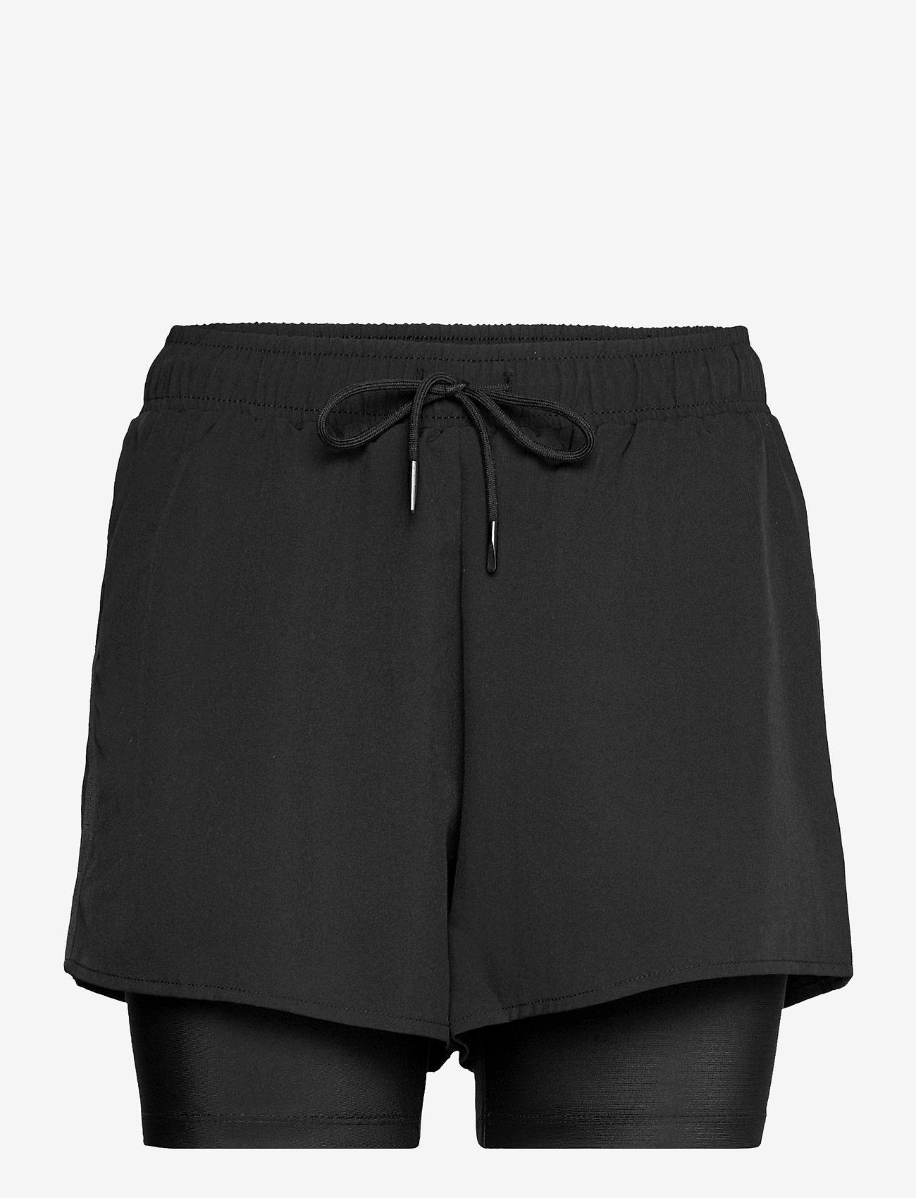 Röhnisch - Kay Shorts - träningsshorts - black - 0