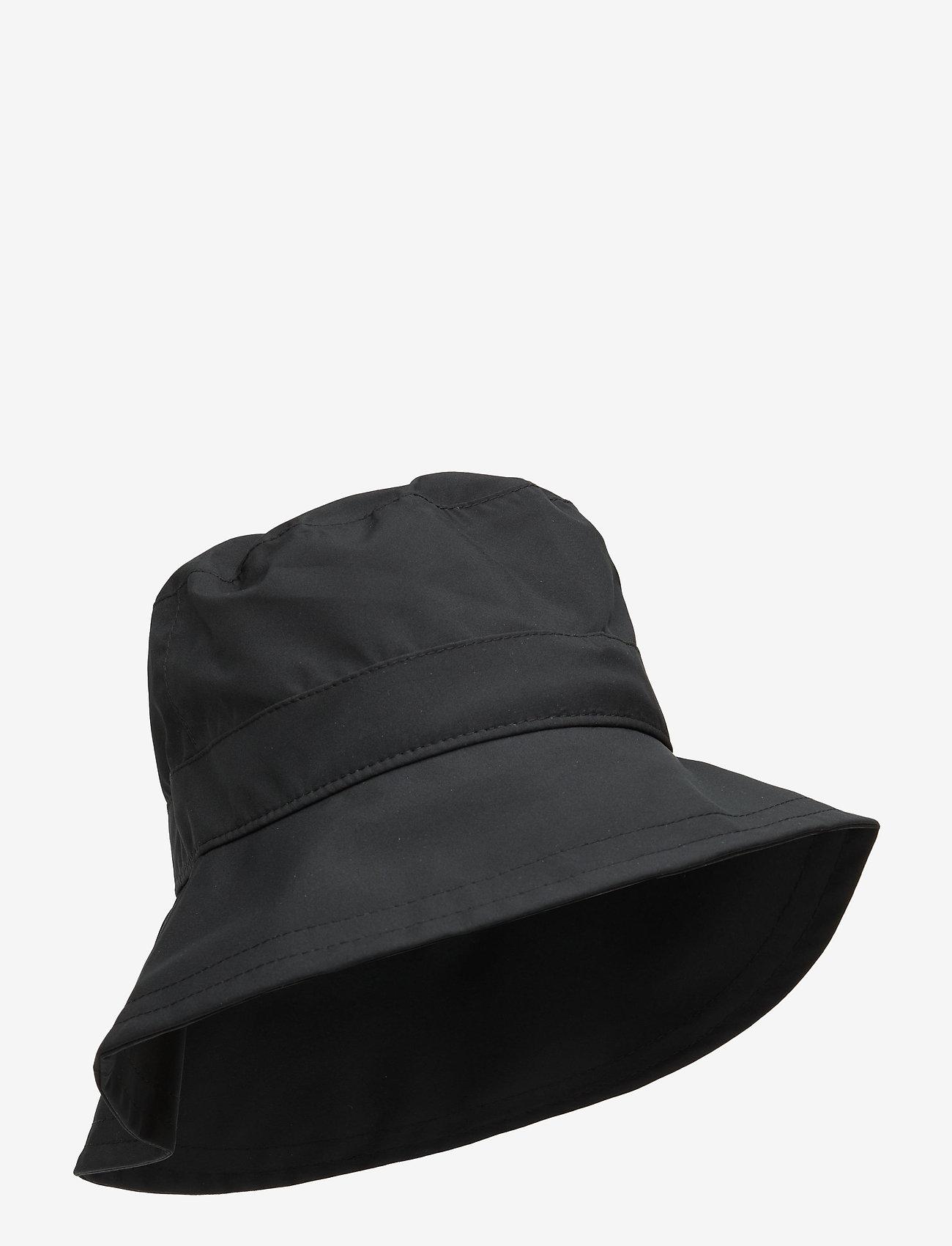Röhnisch - Rain Hat - bøllehatte - black - 0