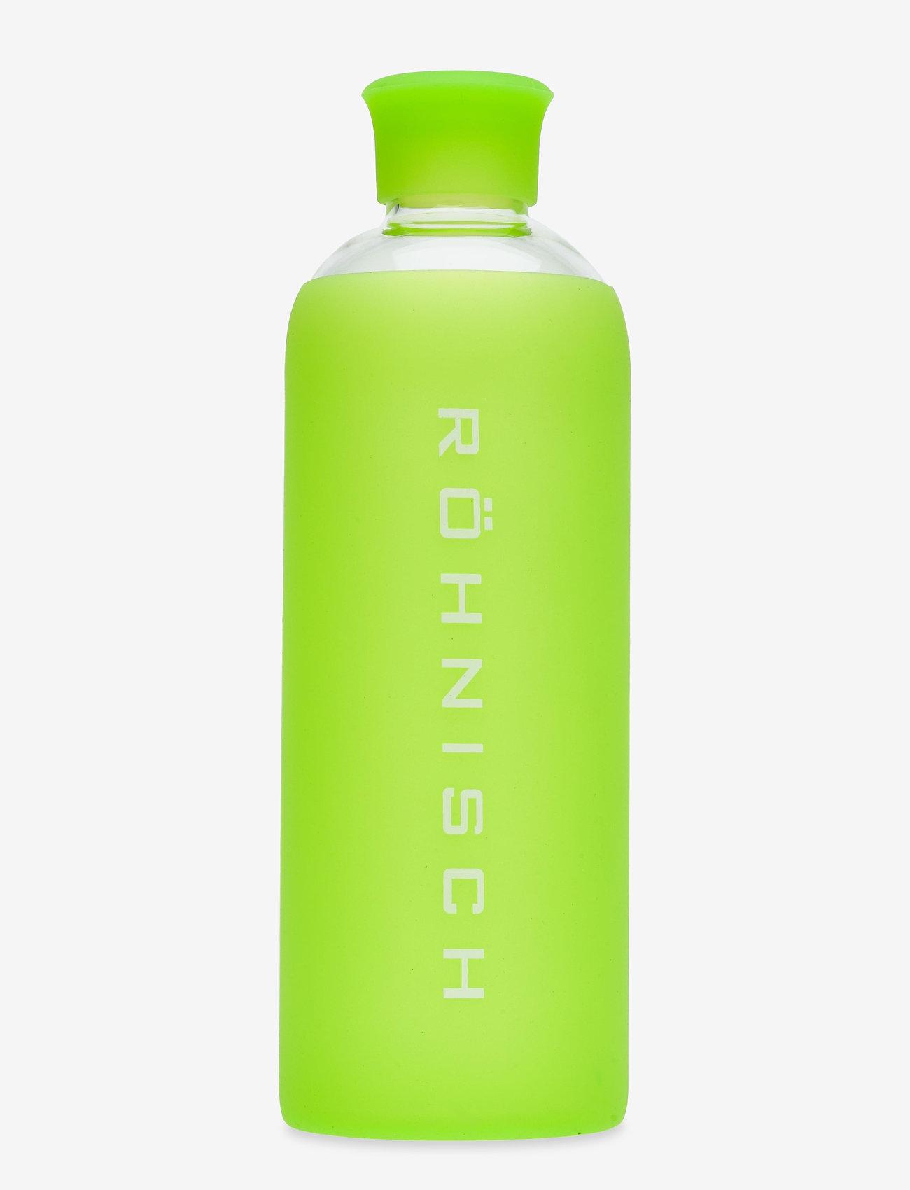 Röhnisch - Glass Water Bottle - waterflessen - lime - 0