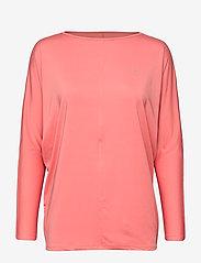 Röhnisch - Drape Top - bluzki z długim rękawem - peach blossom - 0