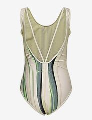 Röhnisch - Lola Strap Swimsuit - stroje kąpielowe - laser beam lime - 1