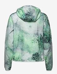 Röhnisch - Printed Wind Jacket - koulutustakit - green space dyed - 1