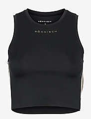 Röhnisch - Fuze Sport Top - crop tops - black - 0