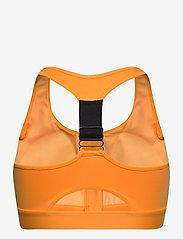 Röhnisch - Zippy Sportsbra - sort bras:high - neon orange - 1