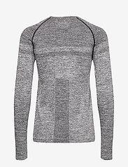 Röhnisch - Emma Seamless Long Sleeve - topjes met lange mouwen - grey melange - 1