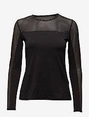 Röhnisch - Miko Long Sleeve - bluzki z długim rękawem - black - 0