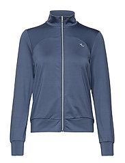 Zip Jacket - DUSTY BLUE