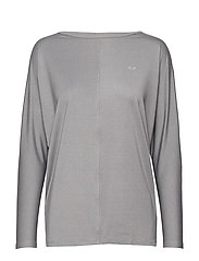 Drape Top - GREY MELANGE