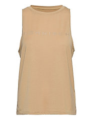 Clara Loose Singlet - CURRY