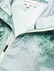 Röhnisch - Printed Wind Jacket - koulutustakit - green space dyed - 2