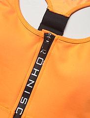 Röhnisch - Zippy Sportsbra - sort bras:high - neon orange - 2