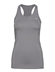 LONG TANK TOP - GREY MELANGE