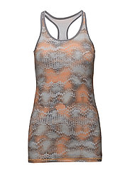 LONG TANK TOP AOP - SAFFERON OCEAN RIPPL