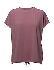 TO HATHA LOOSE TEE - BLUSH