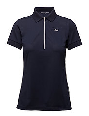 STRIPE POLOSHIRT - INDIGO NIGHT