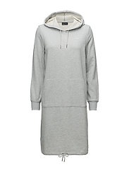 COMFY DRESS - GREY MELANGE
